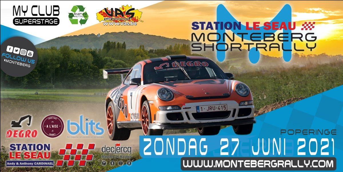 Station Le Seau Monteberg Rally op 27 juni in Poperinge