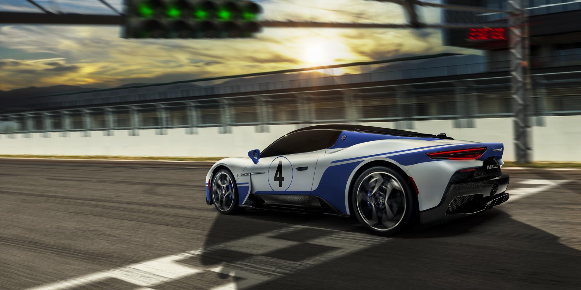 Master Maserati Driving Experiences 2021:  nu ook rijtrainingen met de MC20
