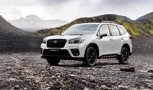 Subaru introduceert Forester Sport in line-up Forester MY21