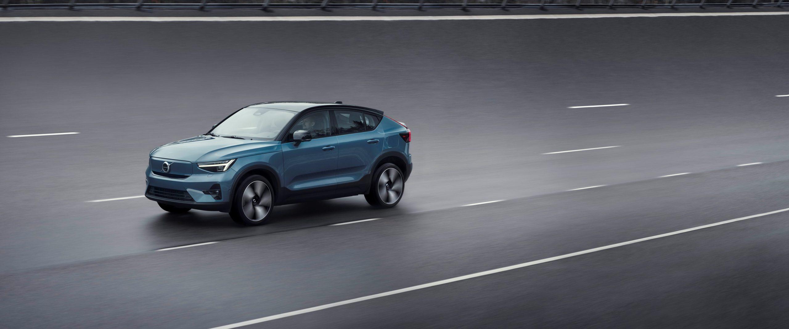 Volvo Cars lanceert nieuwe, volledig elektrische Volvo C40 Recharge