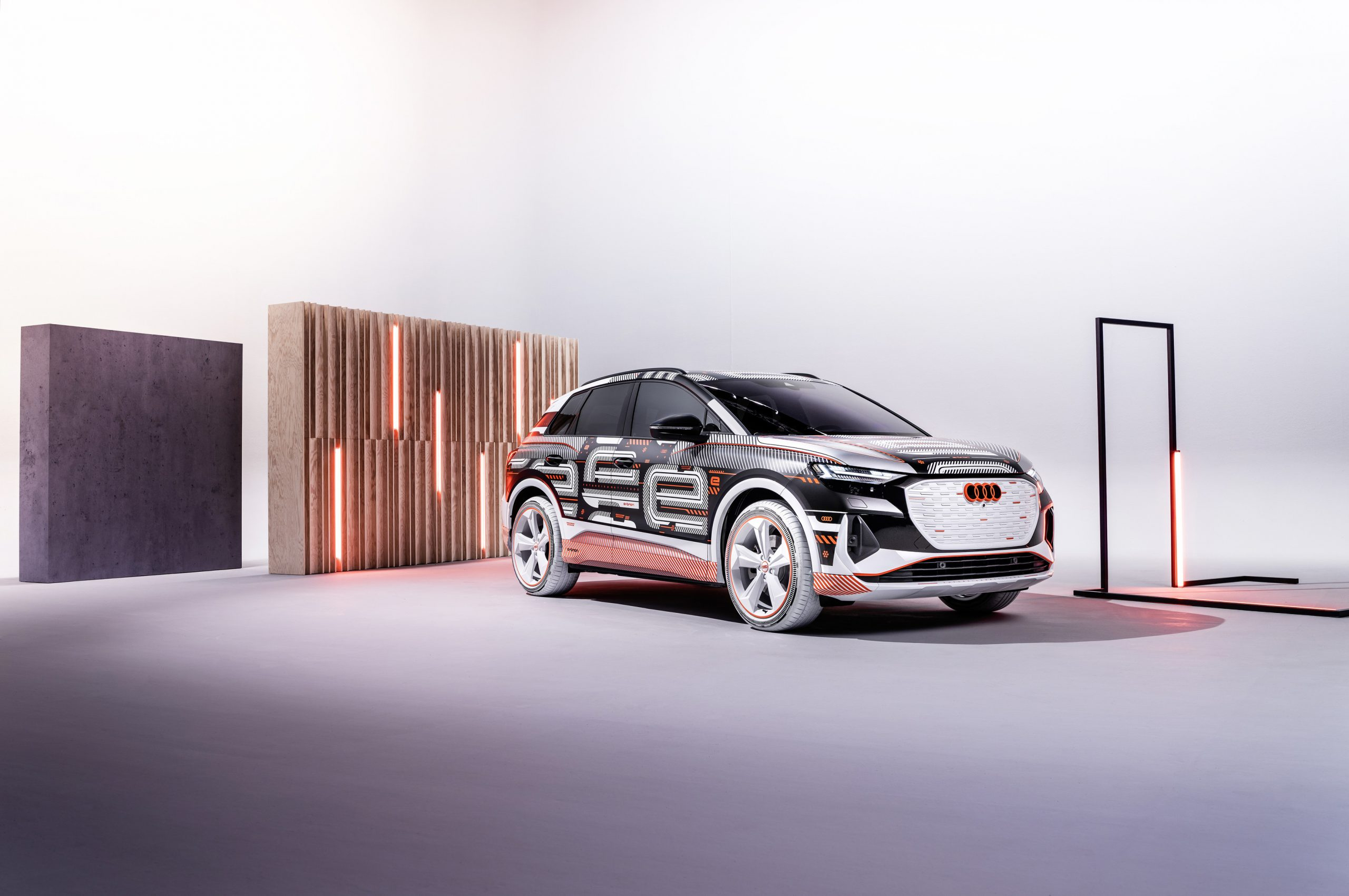Een nieuwe dimensie van e-mobiliteit: de Audi Q4 e-tron zet een maatstaf voor interieur en bediening