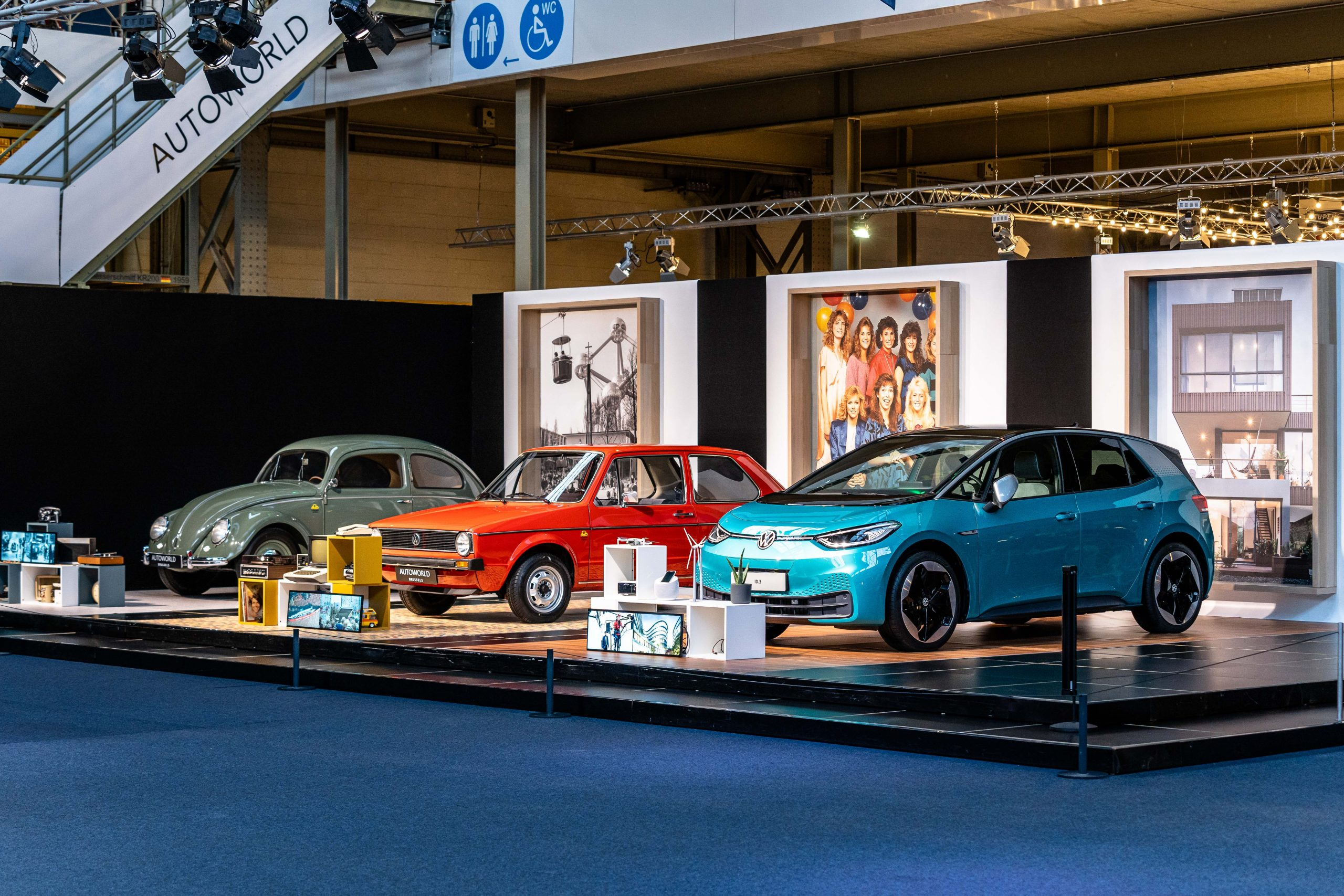 "Autoworld presents ""Expo Volkswagen Milestones"""