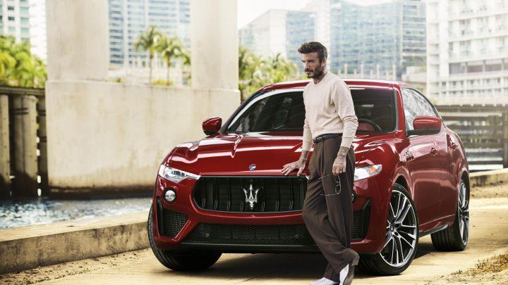 Maserati en David Beckham