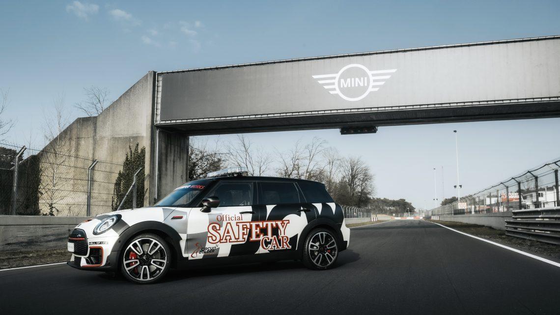 306-pk sterke MINI Clubman is de nieuwe Safety Car van Circuit Zolder