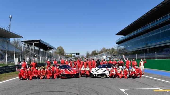 Passione Ferrari Club Challenge 2021 van start op Monza