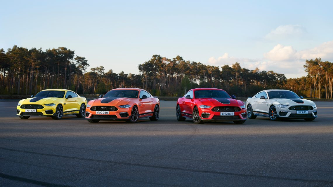 Ford Mustang Mach 1 touches down in Europe