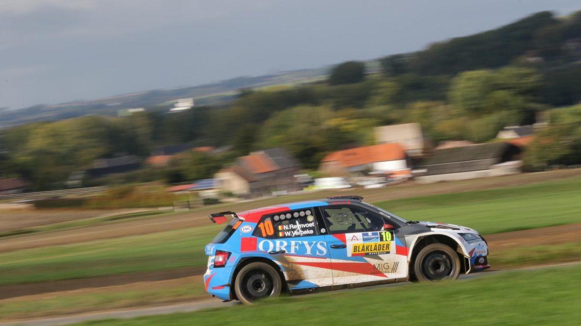 Orfys verlengt zijn partnership met het  Kroon-Oil Belgian Rally Championship