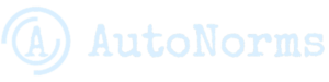 AutoNorms LOGO with text, light