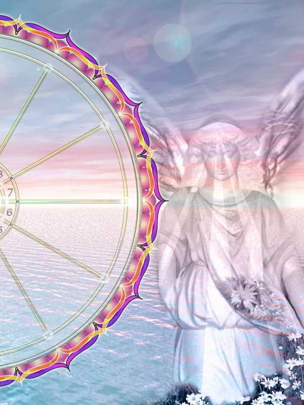 Large Natal Horoscope