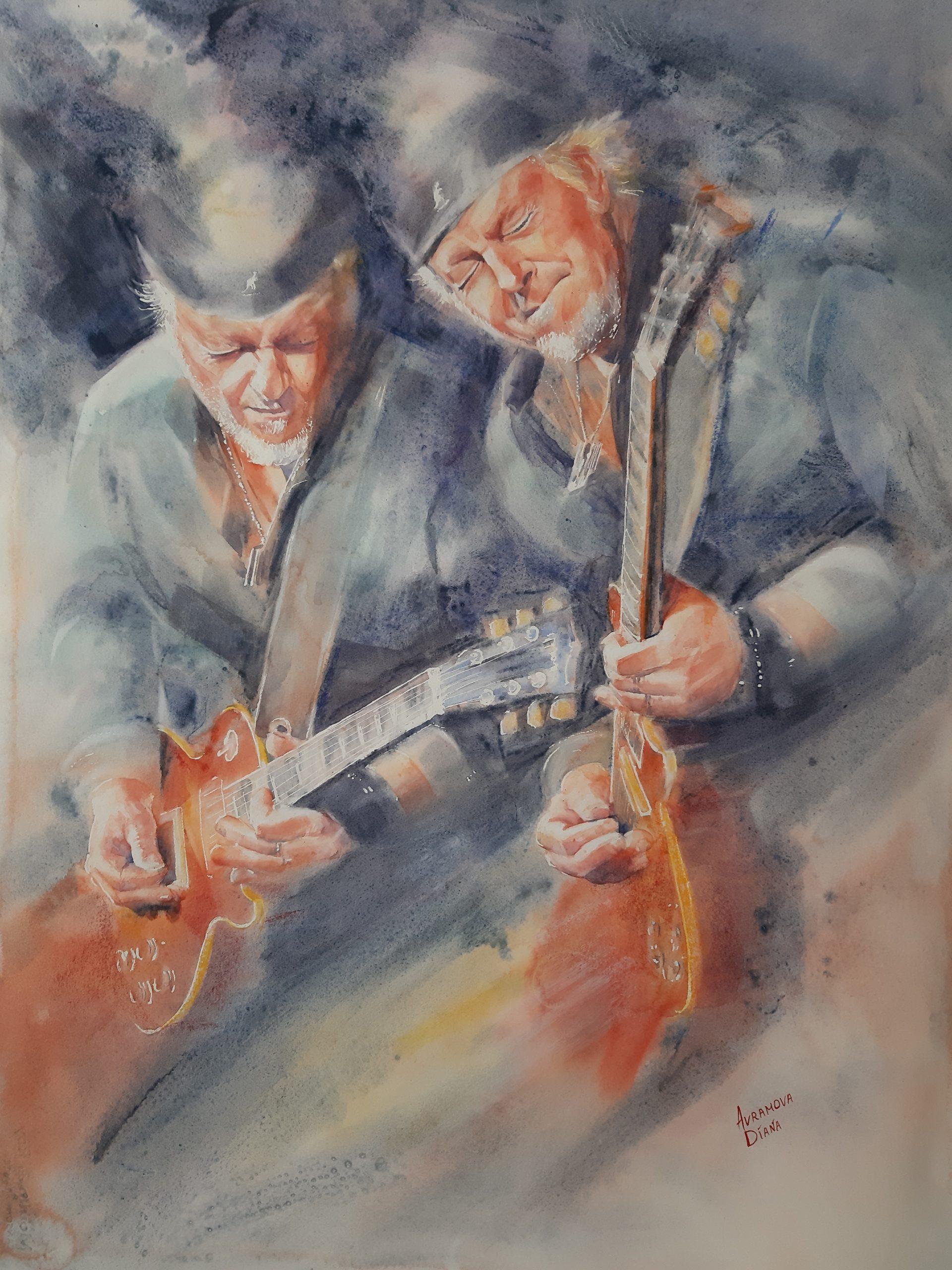 Gitaristen