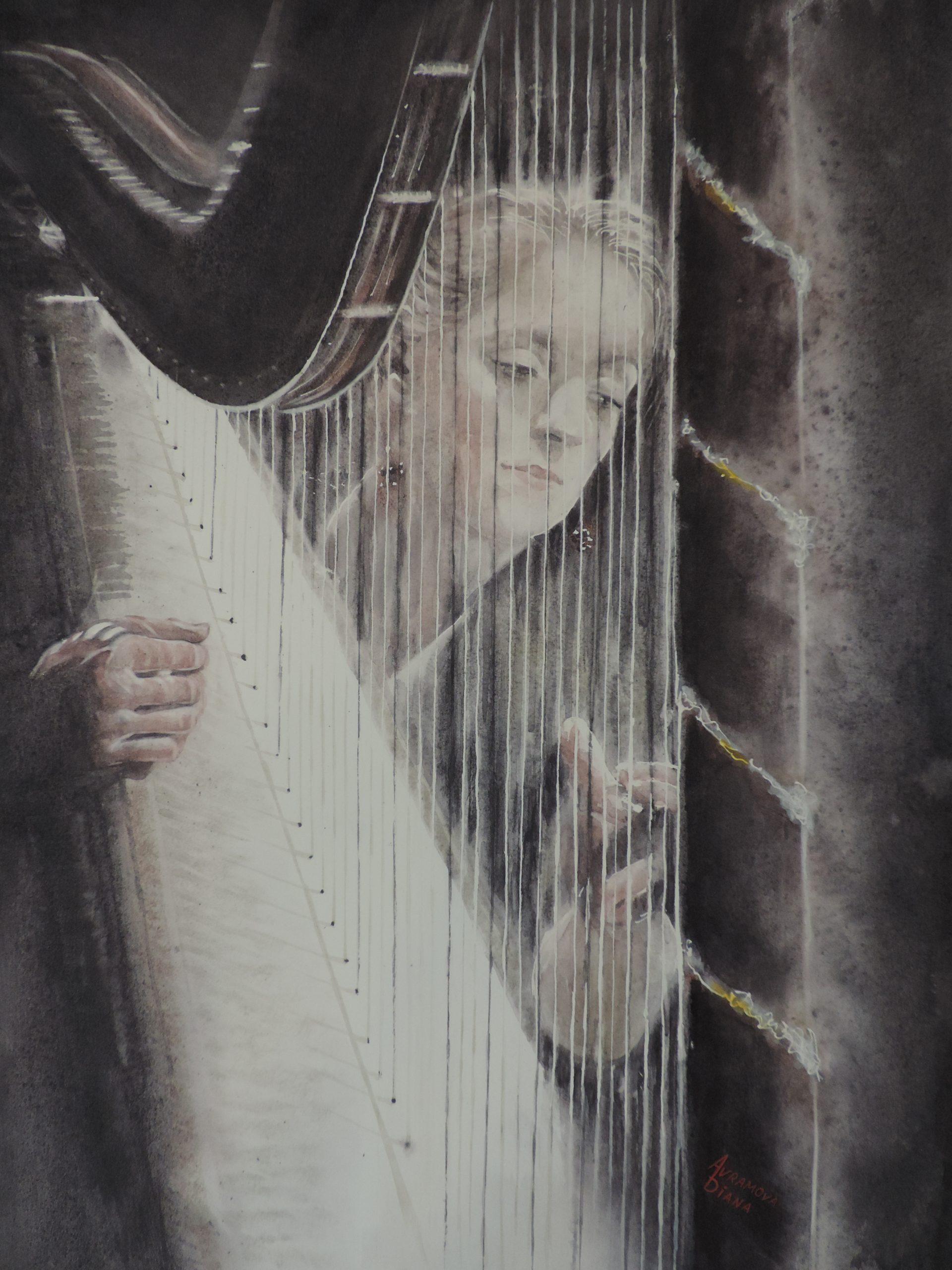 Jeu de harpe