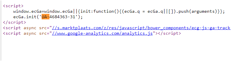 Google Analytics Code