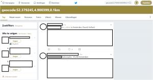 Tweets geolocatie
