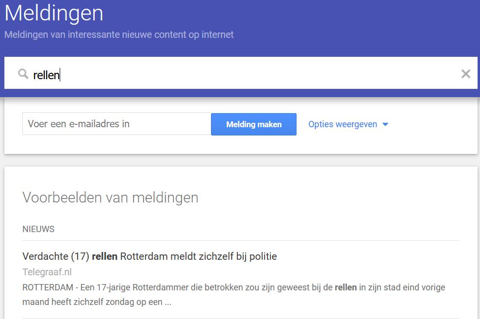 Google Alerts - Rellen