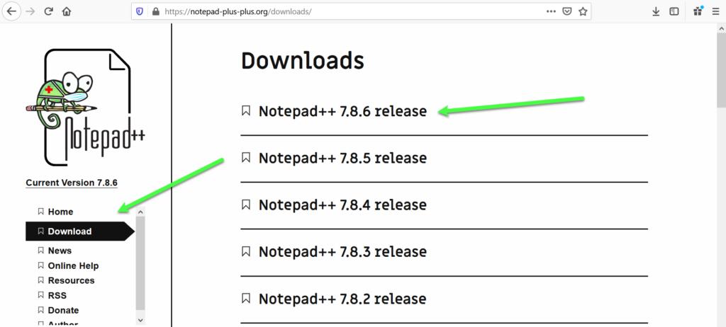 Notepad++ downloaden