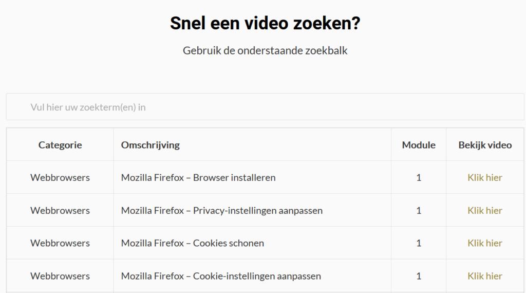 OSINT Video Database