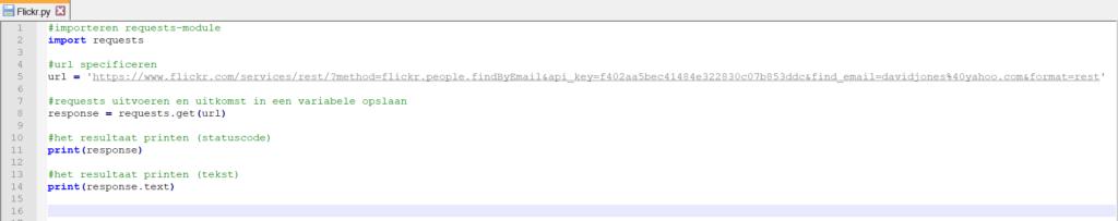 Python print variabele tekst