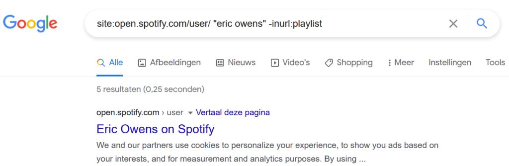Spotify via Google