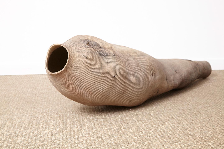Ernst Gamperl - Oak sculpture 2015