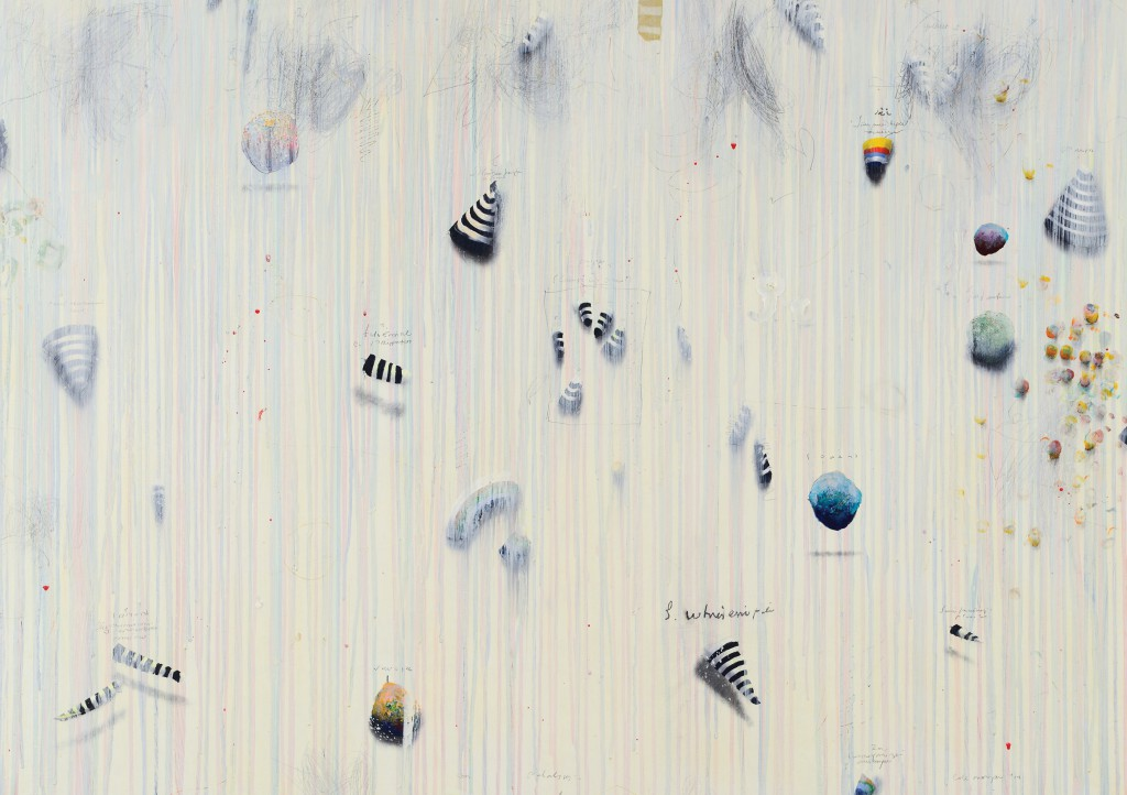 Cole Morgan-'Early Birds' 2014-100x130 cm