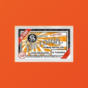 12 Aybel Textielverf Oranje