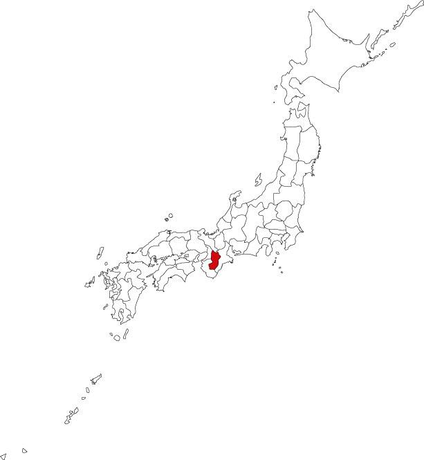 Map of Nara