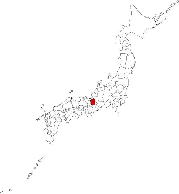 Map of Shiga