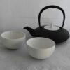 nanbu-tekki, teapot, cups