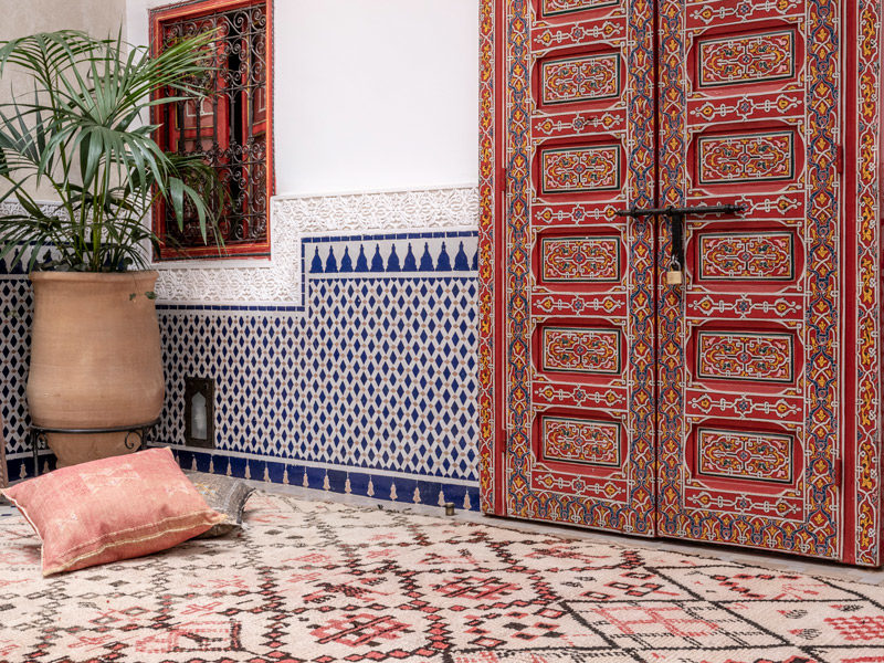 Photographe tapis Marrakech