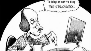 bloggen of niet bloggen