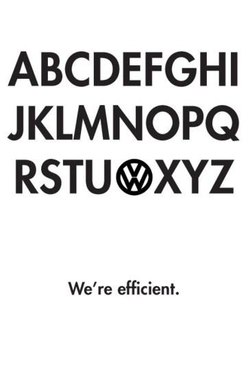 Briljant! Nieuw ad van VW