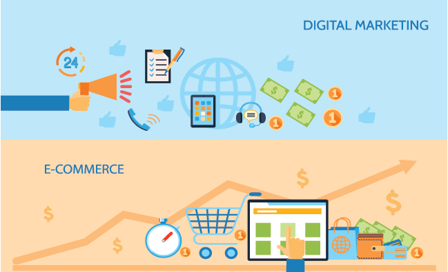 b2b b2c ecommerce online marketing