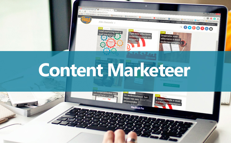 b2b content marketing vacature