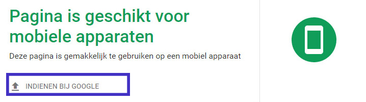 mobile-first-indexing google indienen 2