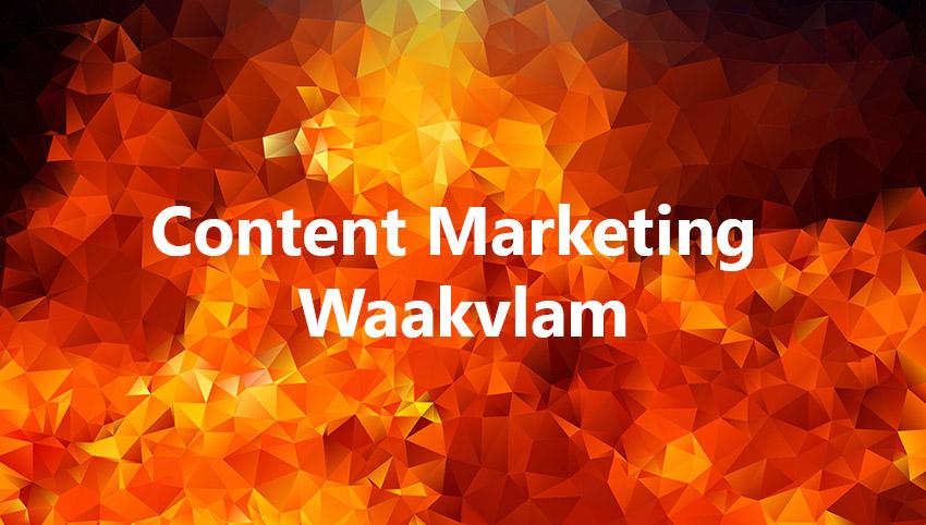 Content Marketing Waakvlam B2B