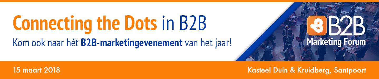 b2b marketing forum 2018 - Connecting the dots