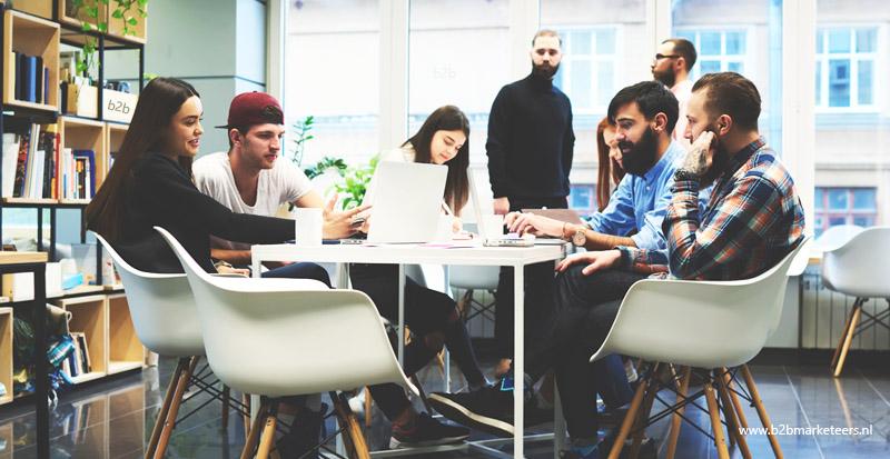 e-commerce team samenstelling