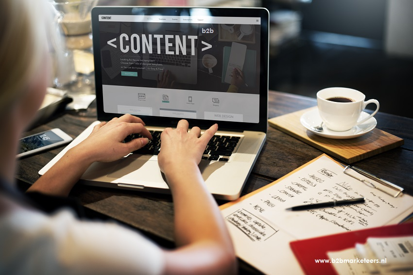 content marketing roi b2b