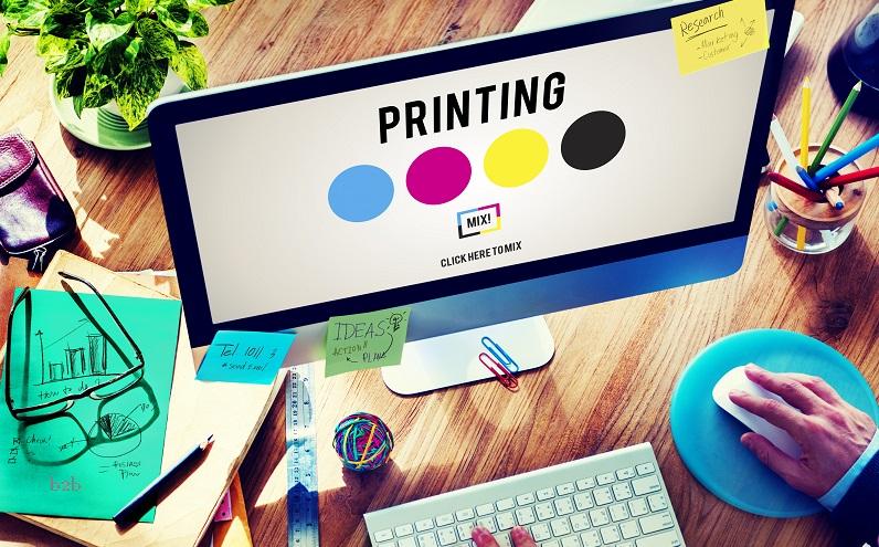 Print vs digital marketing b2b 2018v2
