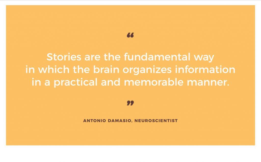 Quote Damasio b2b marketing
