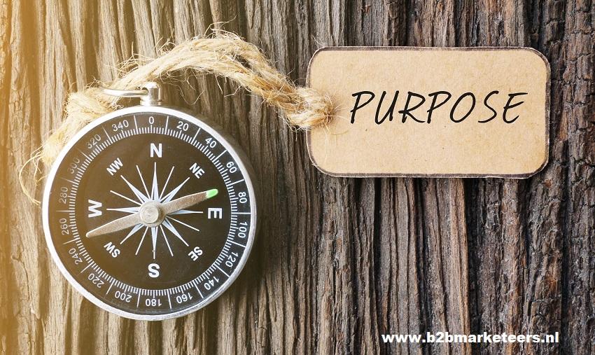 Purpose marketing b2b marketeers