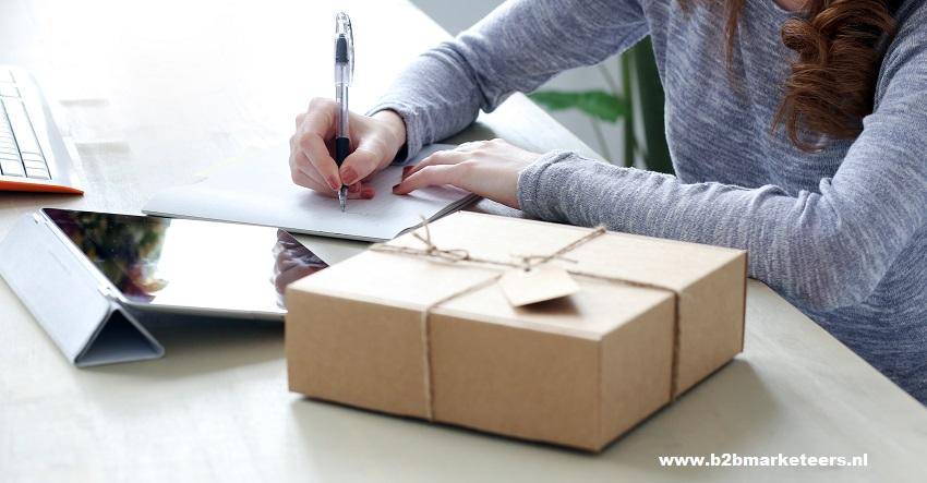 b2b zakelijke pakketpost