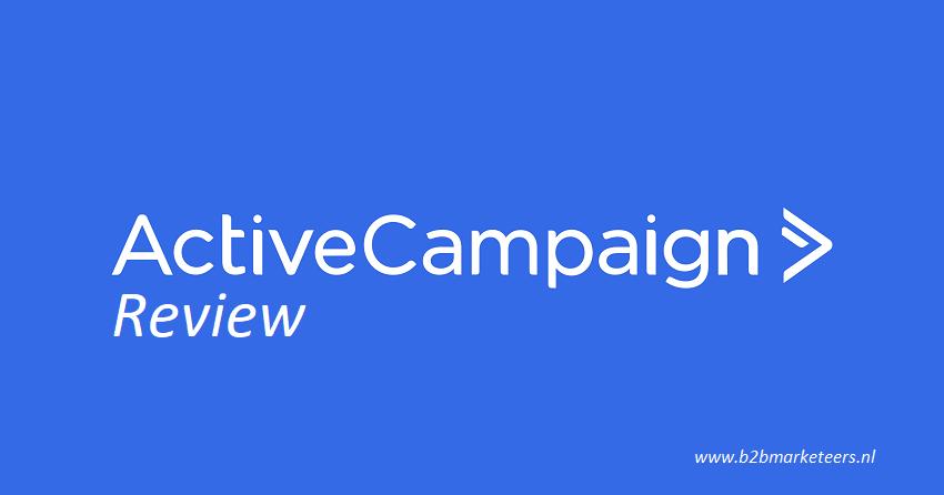 ActiveCampaign Review, breed inzetbare marketing software voor een vriendelijke prijs!