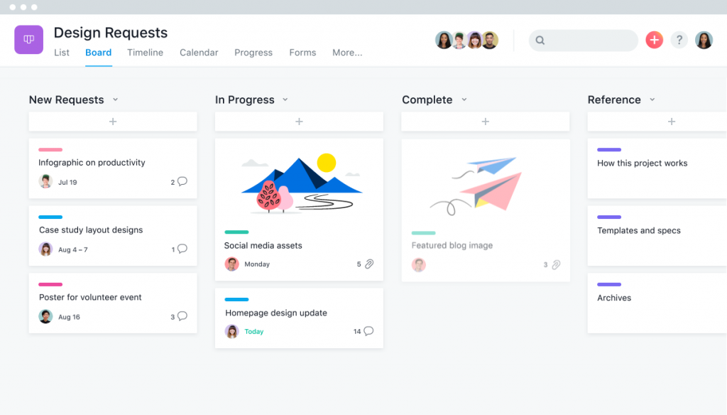 Asana marketing projectmanagement software