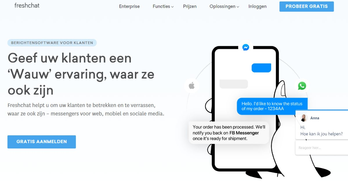 chatbot software freshchat