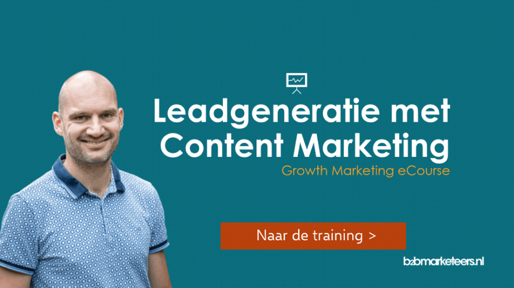 leadgeneratie met content marketing training