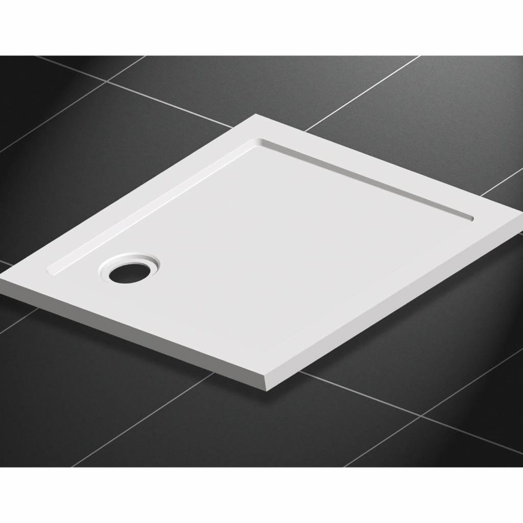 Aqua Royal Inbouw Douchebak - Vierkant 90x90x4 cm