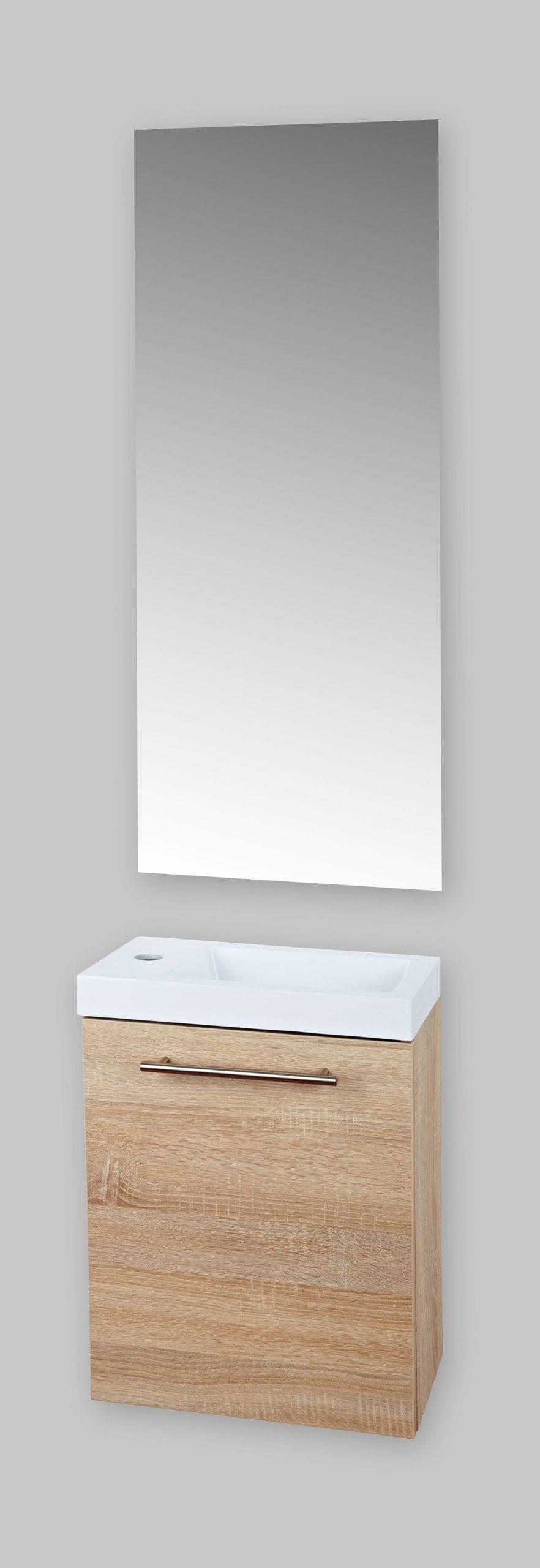 Badstuber Fantasy toiletmeubel eiken 40x22cm