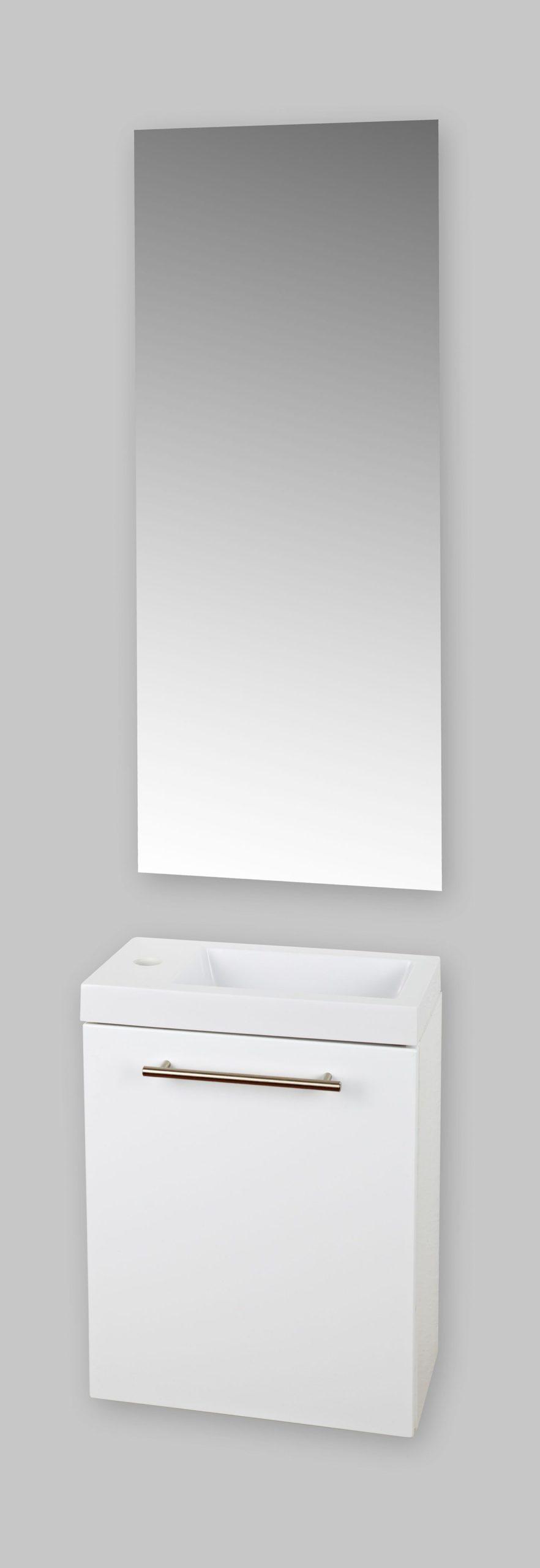 Badstuber Fantasy toiletmeubel hoogglans wit 40x22cm