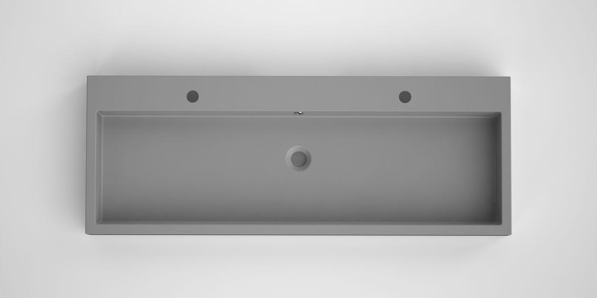 Bruynzeel Box opbouwwastafel composiet 120 x 45 cm, grijs